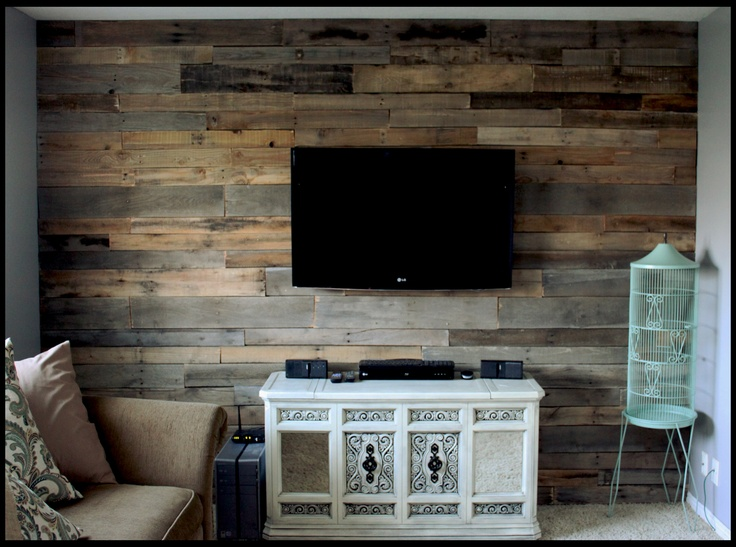 Pallet Wall I Want To Do This One Of My Sing Livingroom