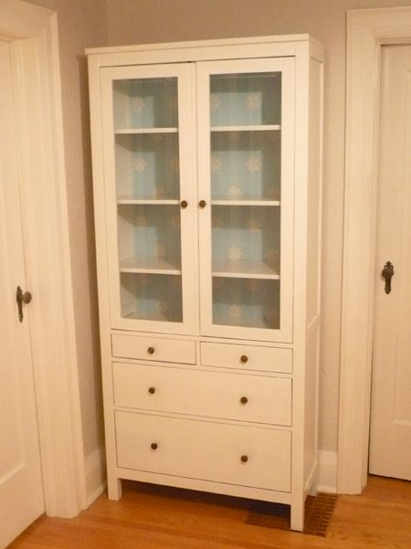 17 best images about antique white linen cabinet on for Ikea diy closet