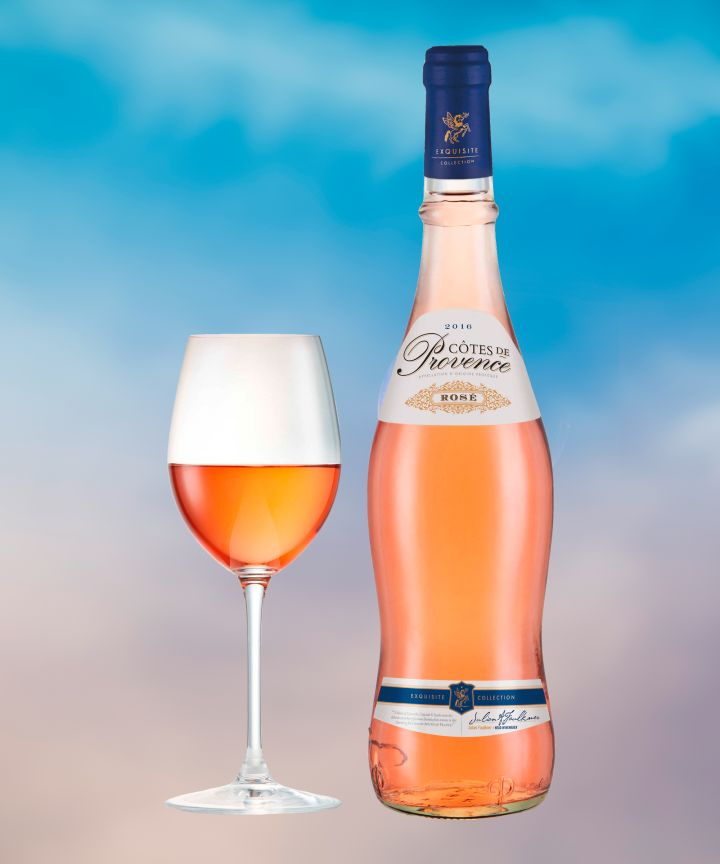 The supermarket chain's in-house rosé, Exquisite Collection Côtes de Provence Rosé, earned a silver medal at the International Wine Challenge.