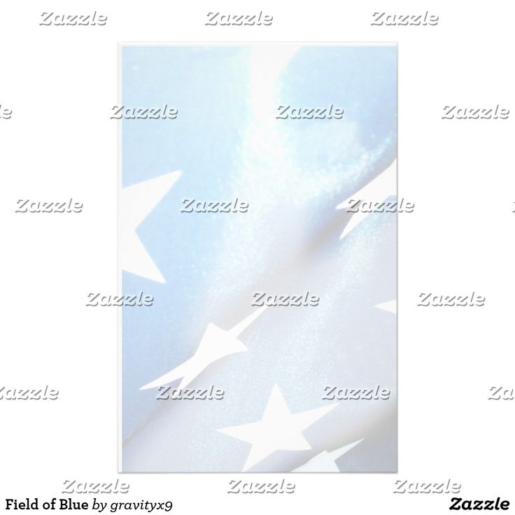 Field of Blue Stationery by Gravityx9 Designs - Write your letters on this American Flag Star on Blue custom stationery. Choose from several paper types. Have your text, title or other information printed by Zazzle or order as-is for your personal hand written message.