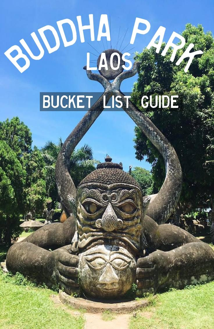 Buddha Park – Vientiane, Laos. Complete Guide
