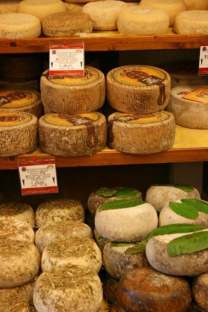 Pienza, Siena, Tuscany, Italy ... we brought some pecorino back for our kids ... and a few neighbors