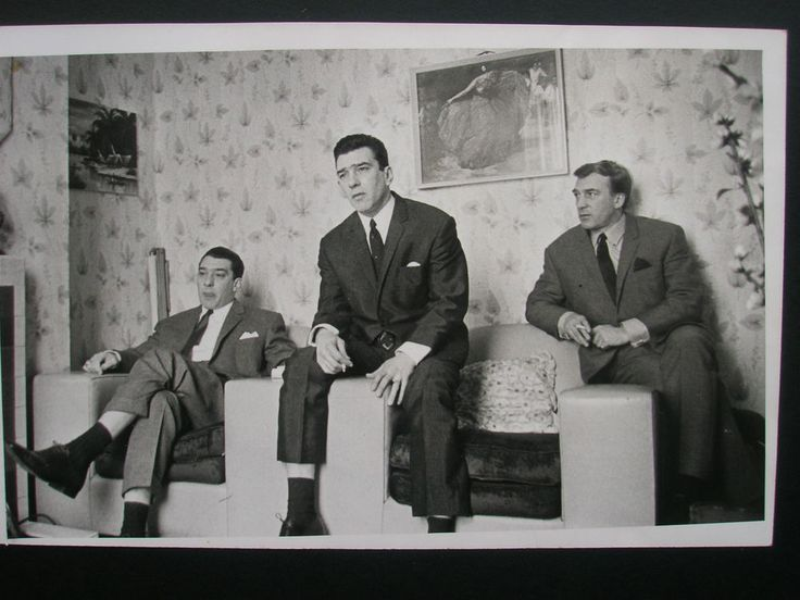 Ronnie Reggie Charlie Kray Twins 1965- Original 1970 s Press Photo 8.5 x 6