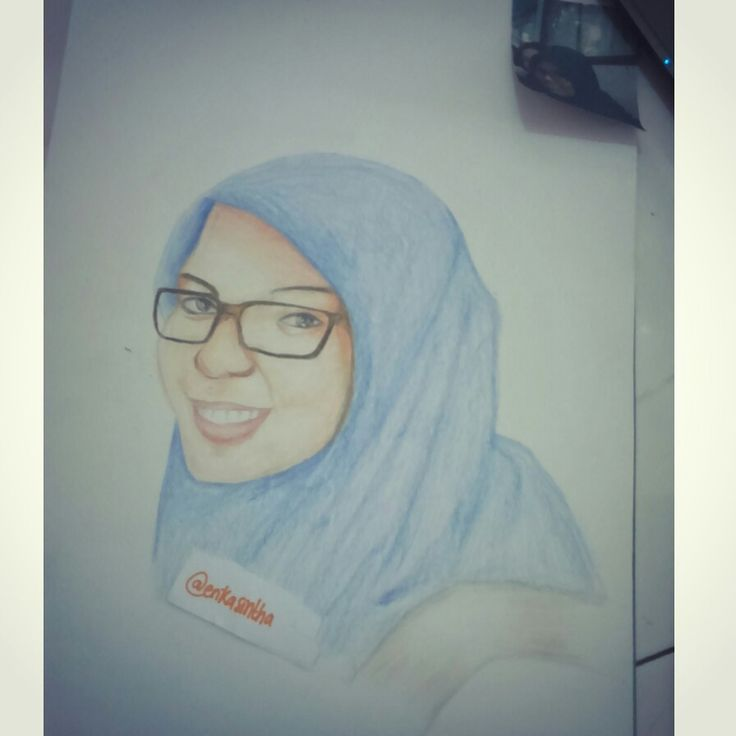 #pencil #colors #fabercastell #girl #hijab #draw #manual #art #sketch