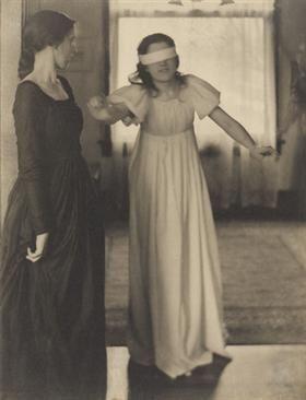 Blindman's Buff - Clarence White 1898