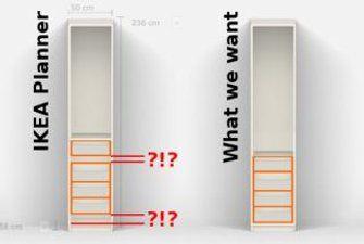 Optimizing An Ikea Wardrobe Kitchen Ideas Ikea Wardrobe Ikea