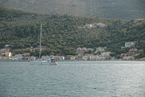 Lazy afternoon... Ithaca, Greece