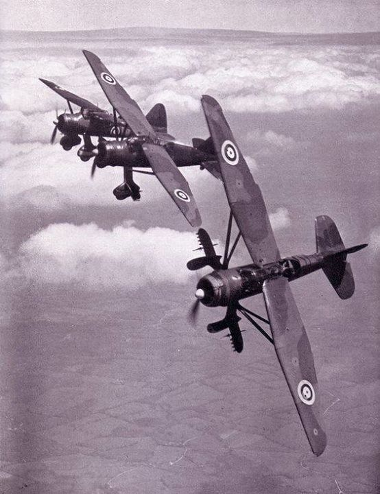RAF - Westland Lysanders