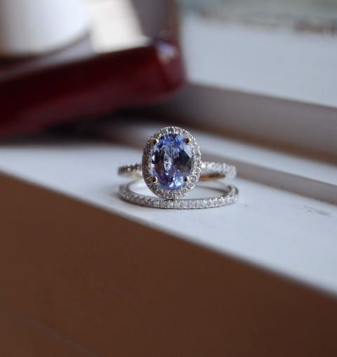 2.5ct Sky blue unheated Ceylon sapphire by EidelPrecious on Etsy, $3000.00
