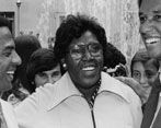 "Rep. Barbara C. Jordan - Women of the Congressional Black Caucus' Virtual Library Project.  Select ""View all Jordan Photographs"" or ""View all Jordan Documents"""