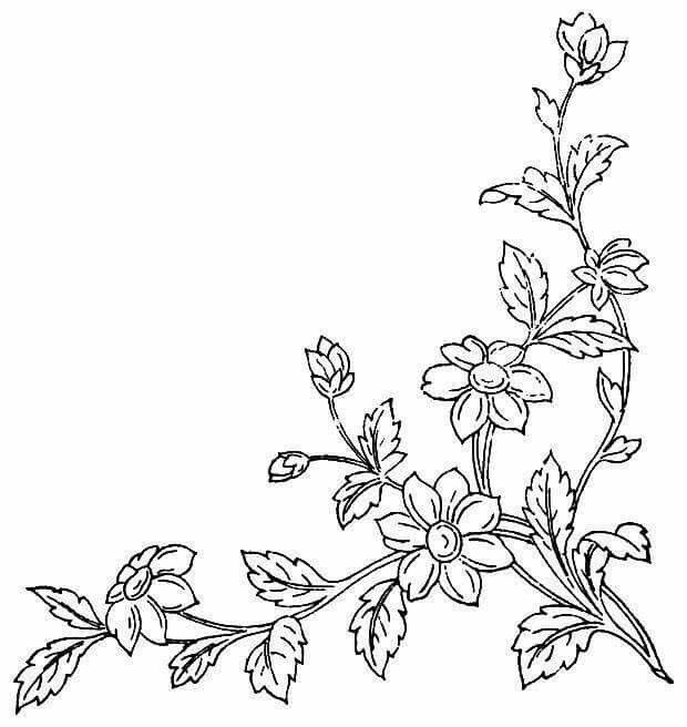 Dibujos De Ramos De Flores Para Bordar Good Bonito Plantillas De