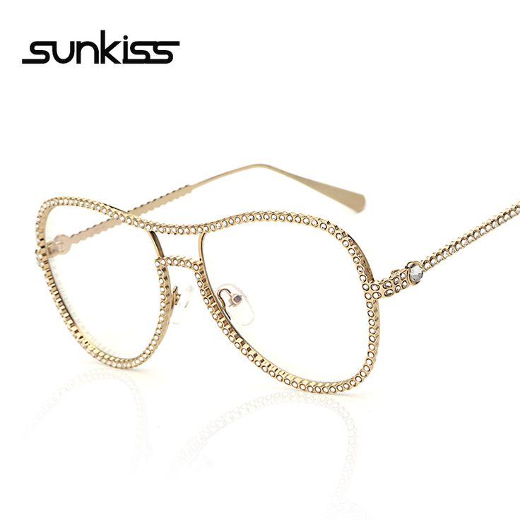 $9.00 (Buy here: https://alitems.com/g/1e8d114494ebda23ff8b16525dc3e8/?i=5&ulp=https%3A%2F%2Fwww.aliexpress.com%2Fitem%2FSUNKISS-High-Quality-Large-Frame-Dimond-Eyewear-Frames-Sunglasses-Women-Twin-Beams-Women-Optical-Eyeglasses-Gold%2F32757305479.html ) SUNKISS High Quality Large Frame Dimond Eyewear Frames Sunglasses Women Twin-Beams Women Optical Eyeglasses Gold Glasses Frames for just $9.00