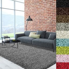 Cozy, Soft and Dense Shag Area Rug   Overstock.com Shopping - The Best Deals on Accent Rugs
