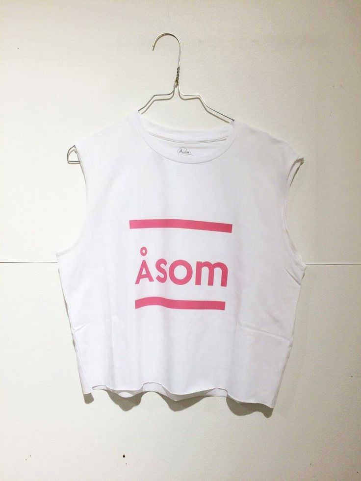 Re-design Åsom T with the new logo in Åsom pink