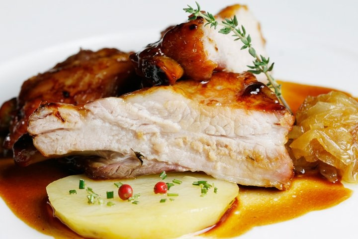 Costillas De Cerdo Asadas a La Miel. Recetas - recipes- food