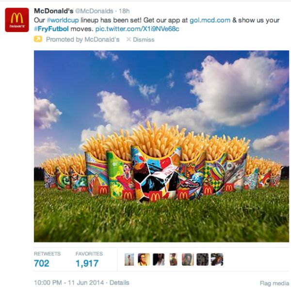 McDonald's Buys Twitter's First Globally Promoted Trend, But Did #FryFutbol Backfire?