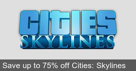[WinGameStore] Cities: Skylines Sale | Cities: Skylines ($7.49/75%) Cities: Skylines Deluxe Edition ($8.99/78%) Cities: Skylines After Dark ($7.49/50%) Cities: Skylines Snowfall ($6.49/50%) Cities: Skylines - Natural Disasters ($11.24/25%) Cities: Skylines - Mass Transit ($11.04/15%)