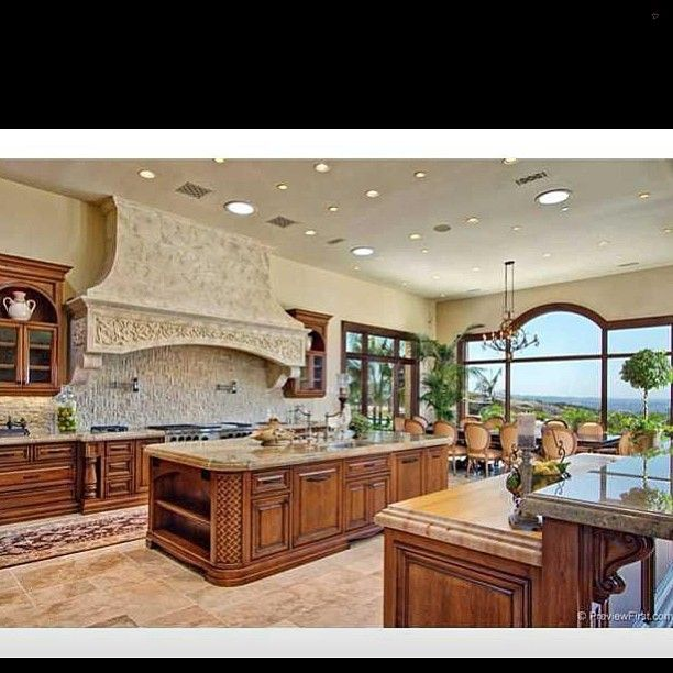 Mediterranean Style Kitchen #home #homedecor #homedesign #decor #design  #designoftheday #