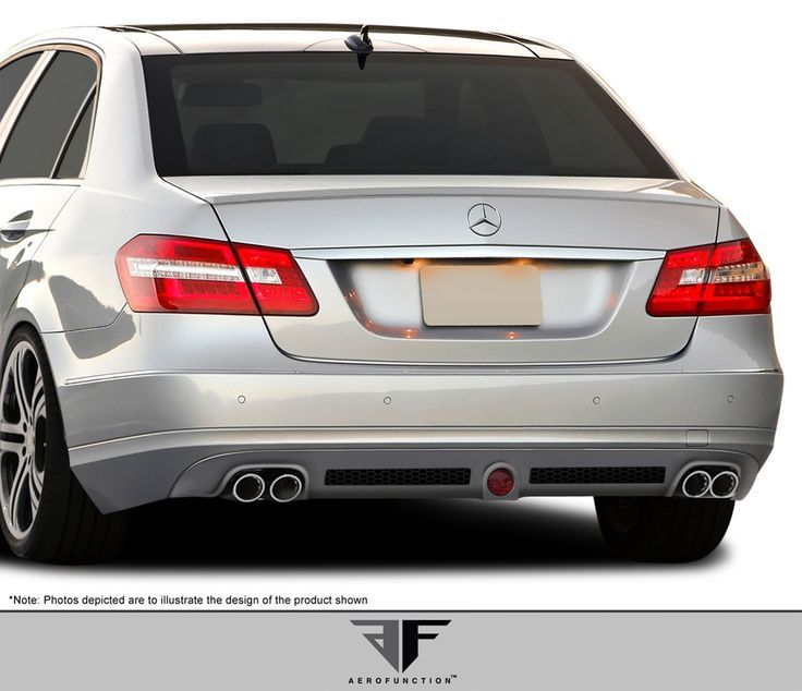 Nice Mercedes: 2010-2012 Mercedes E Class W212 AF-1 Rear Add-On Spoiler (base model) ( PUR-RIM ...  Products Check more at http://24car.top/2017/2017/05/04/mercedes-2010-2012-mercedes-e-class-w212-af-1-rear-add-on-spoiler-base-model-pur-rim-products/