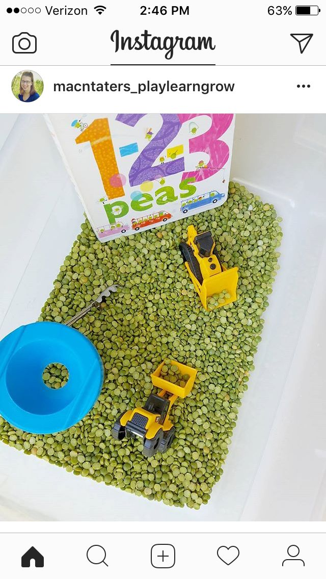 Trucks and counting themed book and sensory bin activity