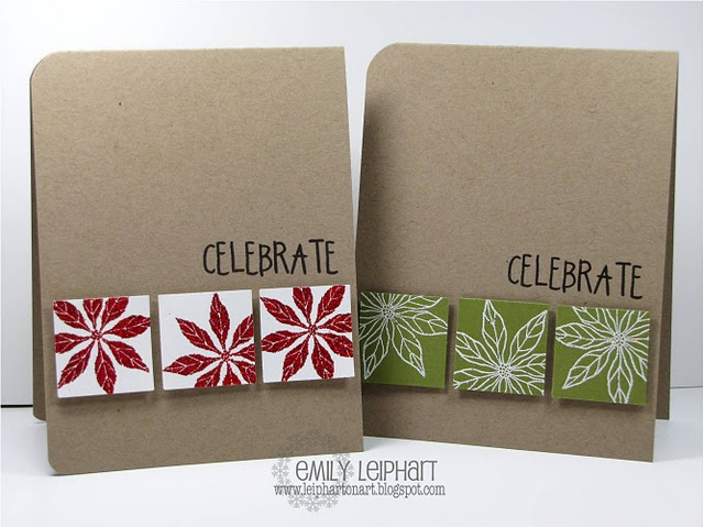 Cute simple Christmas cards