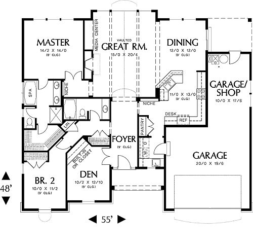 21 best images about h o m e on pinterest house plans for House plans with bedrooms together