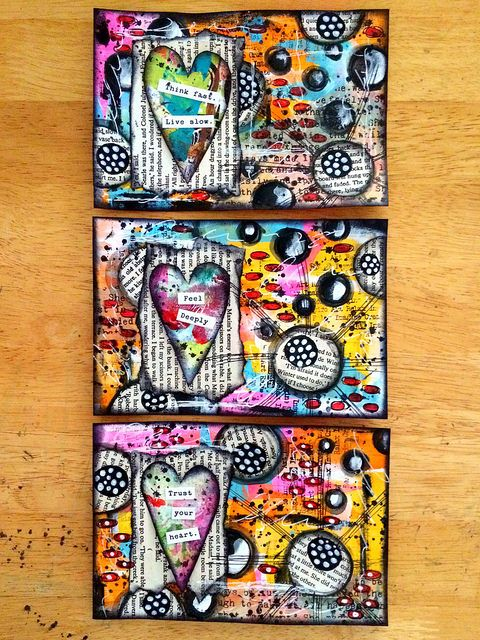 ICAD #25 - set of 3 today | Flickr - Photo Sharing!