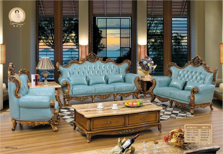 2016 No Promotion Chaise Hot Sale European Style Set Antique Bean Bag Chair Sofas For Living Room Bolsa Victorian Leather Sofa