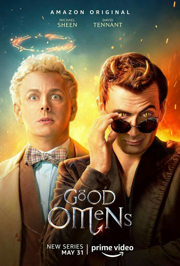 Pin By Kai On Good Omens Michael Sheen Good Omens Book