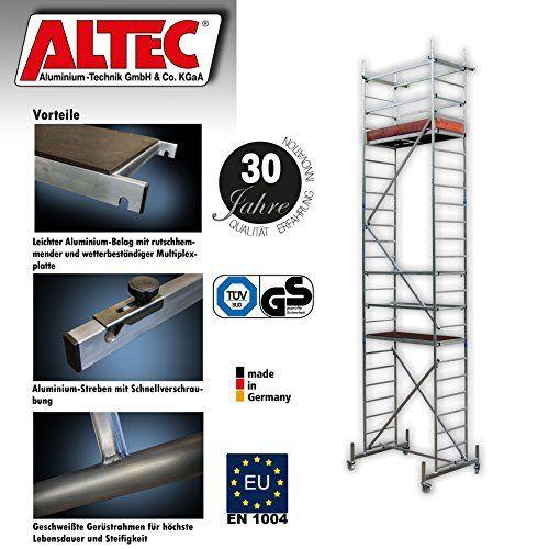 ALTEC échafaudage roulant en aluminium Rollfix 700: Price:976S'il vous plaît notez les différents délais de livraison pour Noël: entre 18…