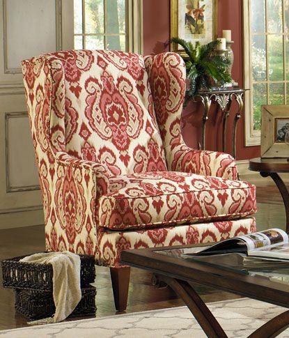 Paula Deen Wing Chair   Grand Home Furnishings | 0229780