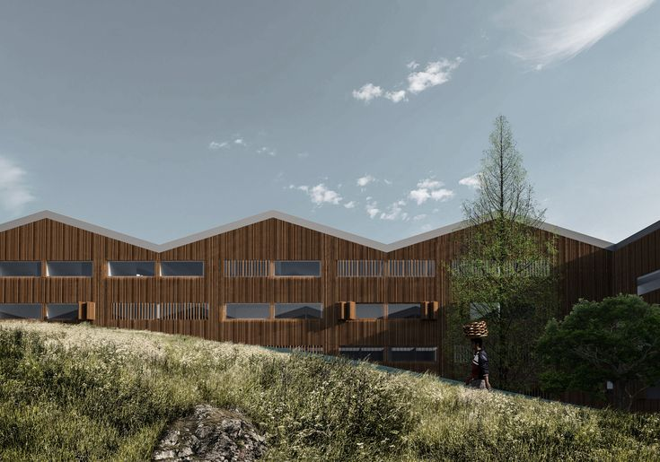 Gallery of Inter National Design Win Competition with Modular School Complex - 9