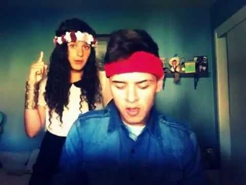 "Me and my sister singing ""stay"" by Rihanna please help them out by liking their video, for Rihanna tickets! thanks"