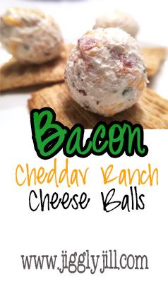 Mini Bacon Cheddar Ranch Cheese Balls - Low Carb, Bariatric & Family Friendly!