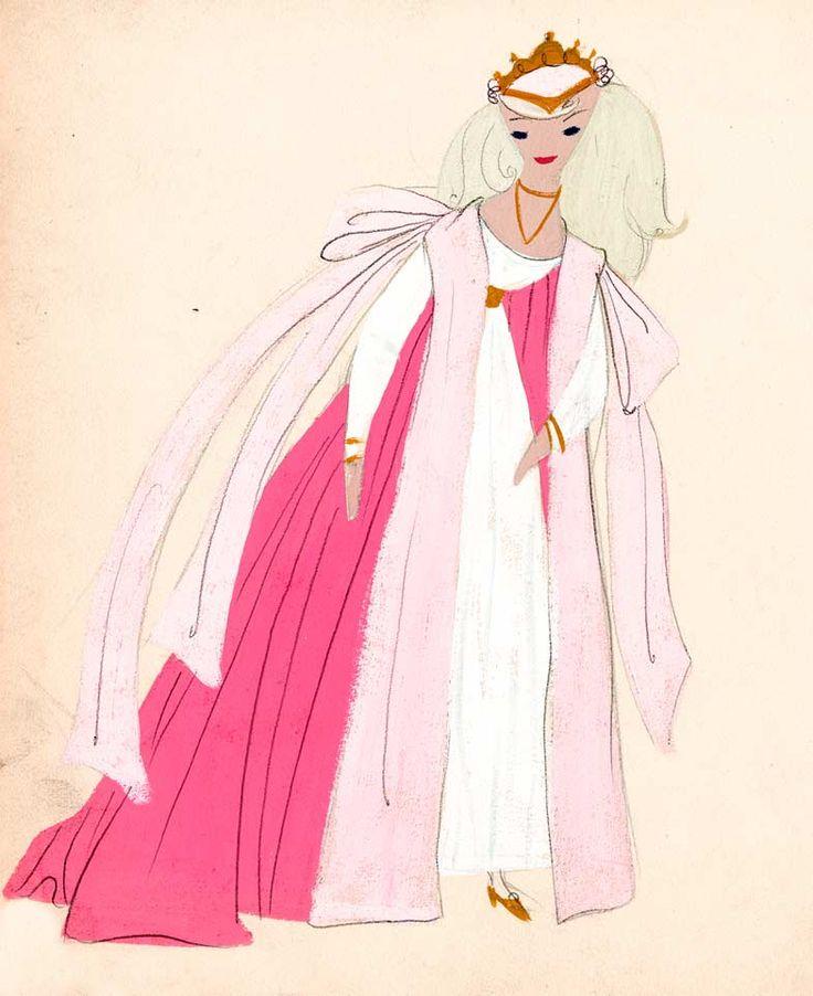 Mary Blair costume designs