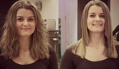 """Was steckt hinter dem Trendbegriff """"Brazilian Blowout""""? Was ist eine Keratin-Behandlung? Unsere Friseur-Expertin steht Rede und Antwort, und Kollegin Natalie wagt den Selbstversuch"""