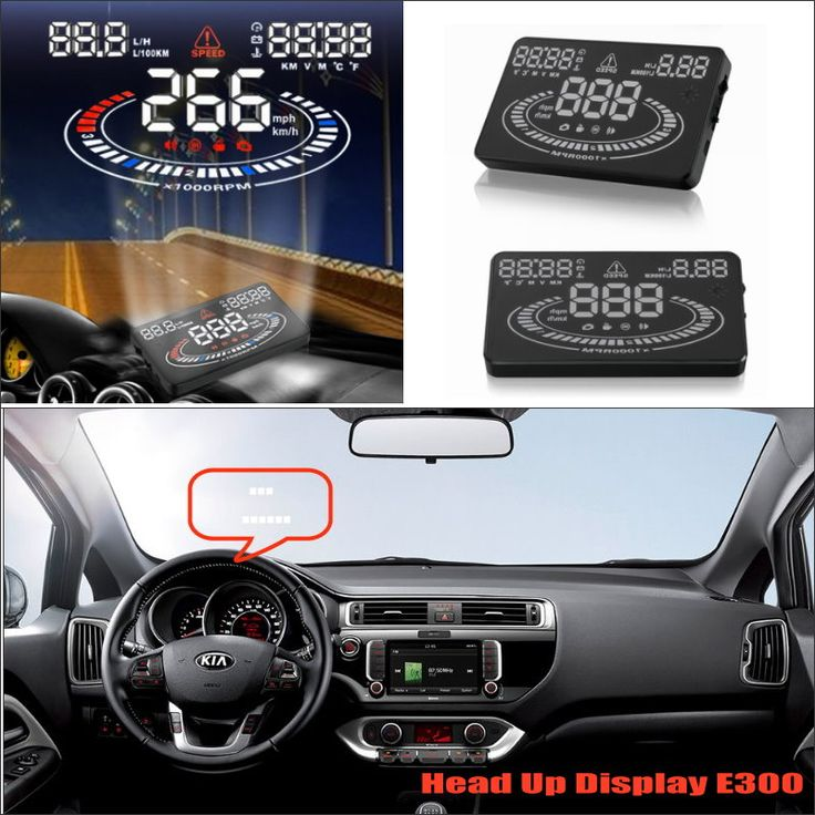 For KIA RIO / Optima 2015 2016 Car Head Up Display Saft Driving Screen Projector - Refkecting Windshield