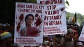 Myanmar Violence Tests Suu Kyis Peace Promise   Myanmar leader Aung San Suu Kyi has made peace and reconciliation a priority of her government but violence against Rohingya Muslims who have long faced discrimination in the predominantly Buddhist country is on the rise. Photo: Getty Images