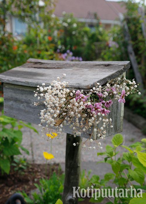 Suloinen postilaatikko! www.kotipuutarha.fi