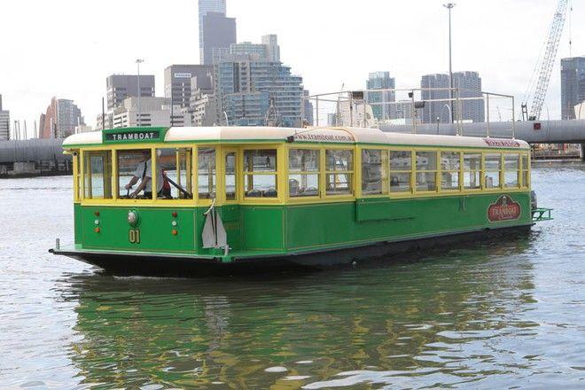 Melbourne's Yamaha Powered Tramboat.  Victoria  Australia