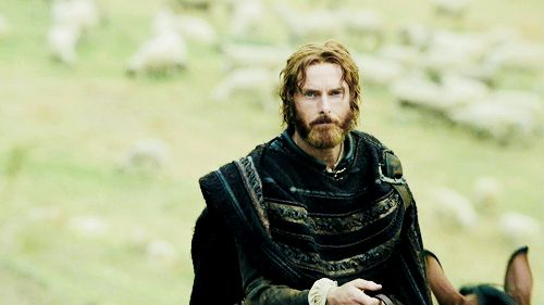 """Micheletto Corella in the TV programme """"The Borgias"""" portrayed by Sean Harris."""