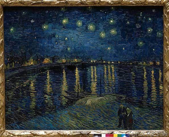 Vincent van Gogh - Sternennacht über der Rhône