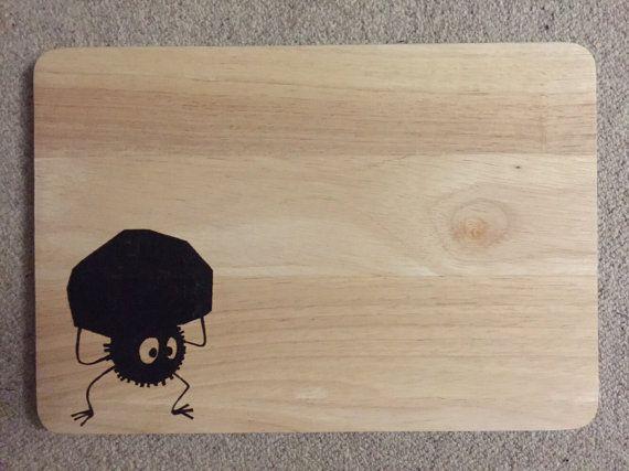 Large Hand Burned Studio Ghibli Soot Sprite by FrodoInWonderland