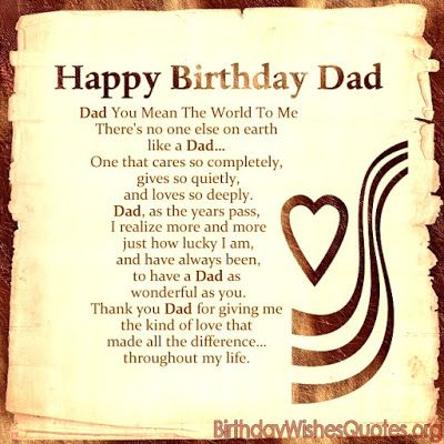 Happy Birthday Dad Messages Happy Birthday Happy