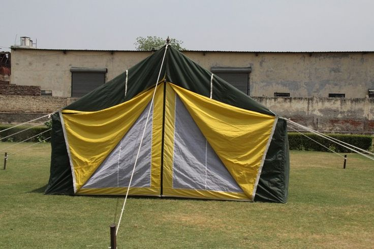 General Service Tents used as all purpose tents #relieftents #armytents #militarytents #tents #indiantents