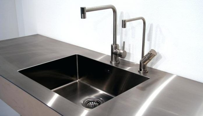 Seamlessly Welded In Sink A Stainless Steel Worktop Each Bingara