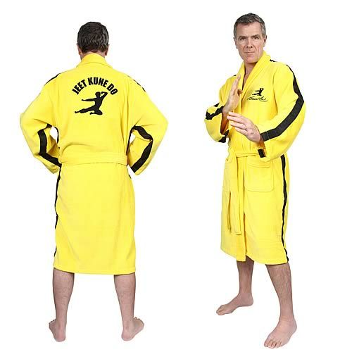 So, if there's going to be Jedi Bath Robes for guests ... Why not a Bruce Lee inspired one?