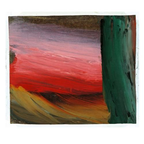This is Alpine Snow by Howard Hodgkin but it makes me feel something much more stirring and sinister than snow.