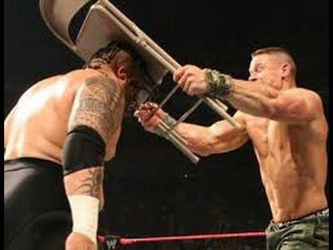 John Cena vs Umaga l WWE New Year's Revolution 2007 l Full Macth