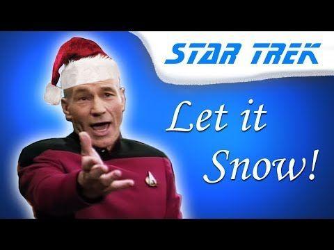 """Captain Jean-Luc Picard Sings """"Let It Snow!"""""""